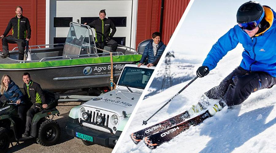 To suksesshistorier: Agro & Miljø og SkiStar